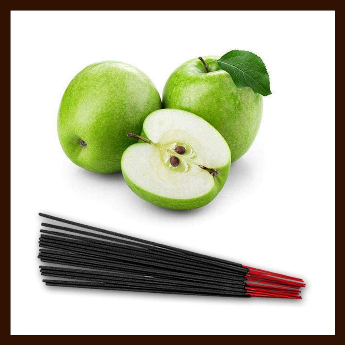 Green Apple Sticks Scented Prayer Agarbatti Premium Quality Fragrance Sticks (750 Grams)