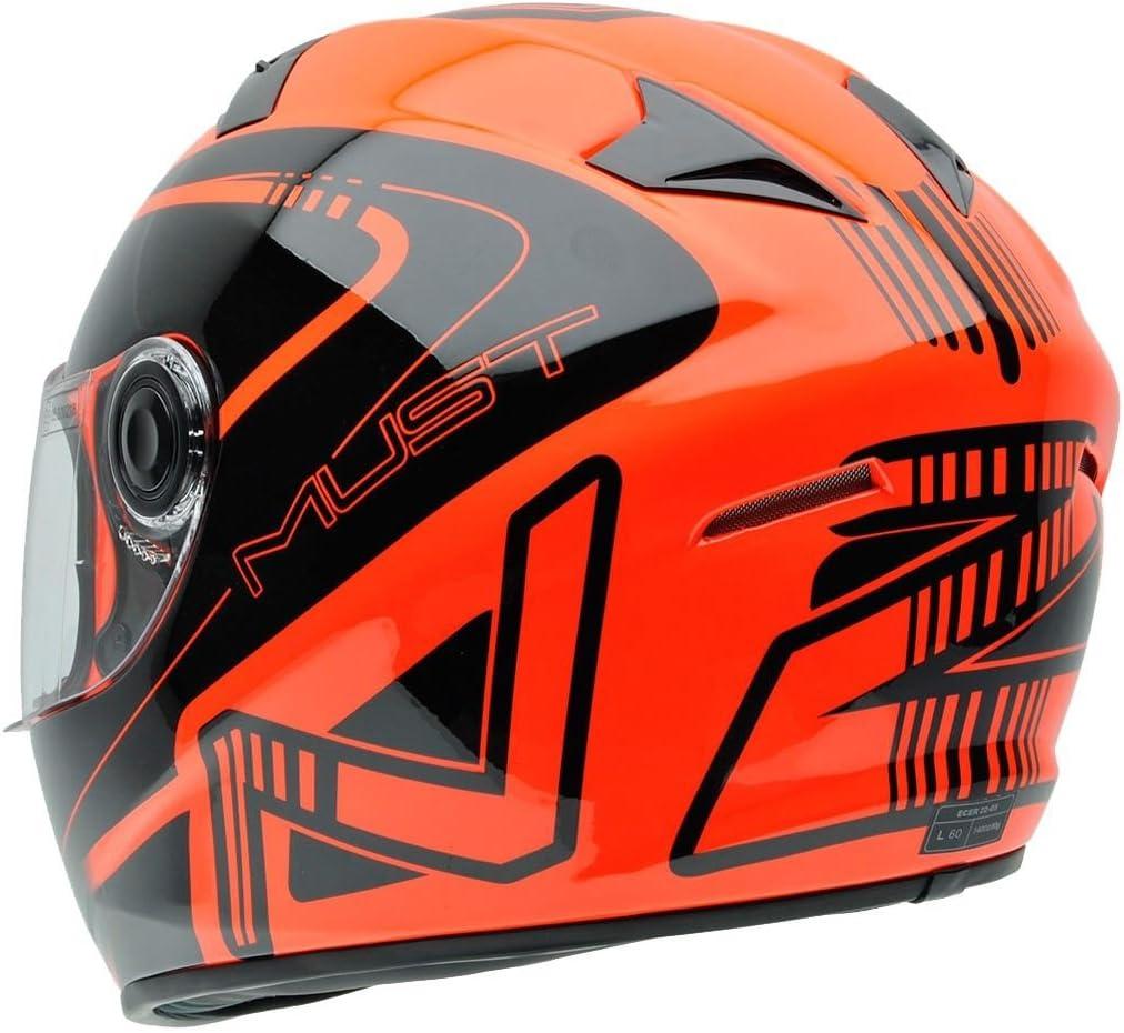 Amazon.es: NZI 150196G677 Must Multi Xlogo Casco de Moto, Color ...