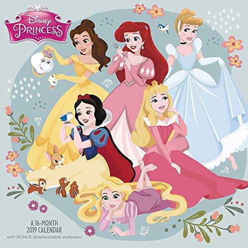 Click for larger image of Disney Princess Wall Calendar (2019)