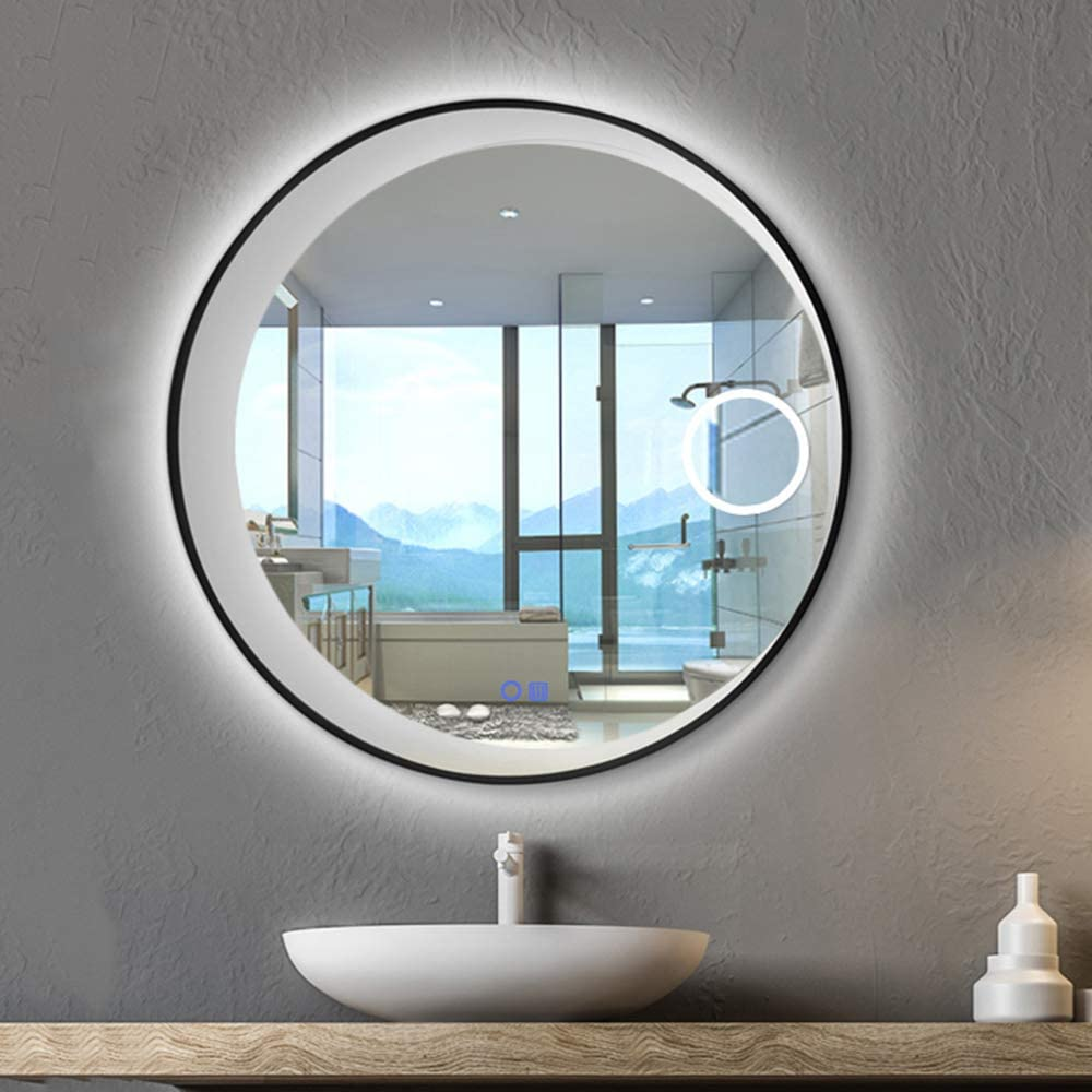 con funzione anti-appannamento 50/_x70/_cm orizzontale e verticale luce bianca fredda Avec Anti-bu/ée Xinyang illuminazione integrata illuminazione LED Specchio rettangolare per bagno