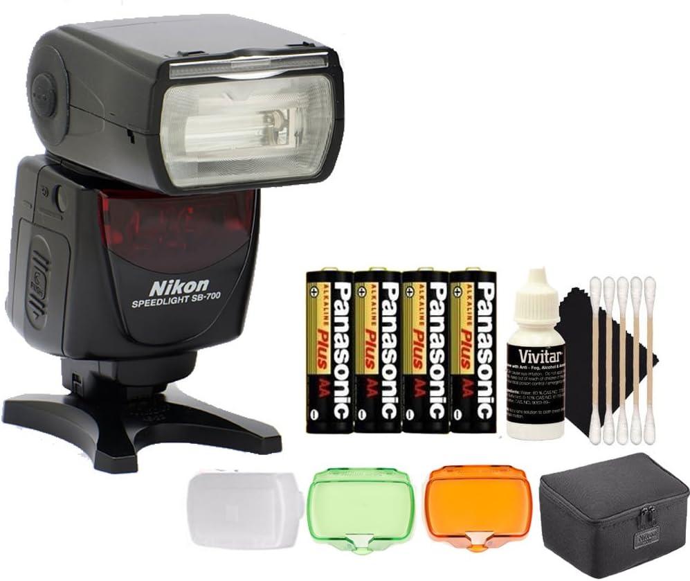 Nikon SB-700 Speedlight AF Shoe Mount Flash for Nikon DSLR D750 D700 D80 and All Nikon DSLR Cameras Accessories
