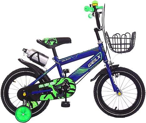 BMXzz 12/14/16/18 Pulgadas Bicicleta Infantil Estudio Aprendizaje ...