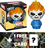 Ghost Rider: Funko Dorbz x Marvel Universe Mini Vinyl Figure + 1 FREE Official Marvel Trading Card Bundle [59538]