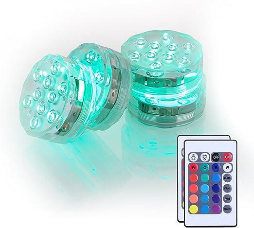 4 Packung Shisha Led Licht 3aaa Batteriebetrieben 7cm Rgb Multicolors Wasserdichte Led Leuchtet Untersetzer Mit Fernbedienung Für Das Rauchen Shisha Hookah Beleuchtung Dekoration Beleuchtung