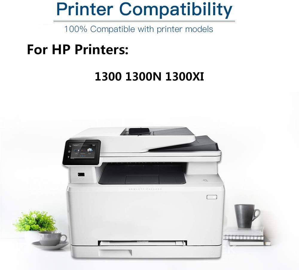 Black 2-Pack Q2613X Compatible High Yield 13X Printer Toner Cartridge use for HP Laserjet Pro 1300 1300N 1300XI Printer