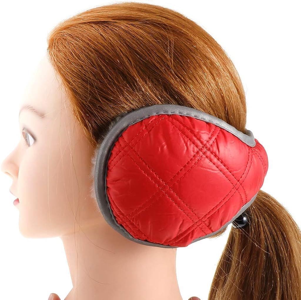 SM SunniMix Fordable Fluffy Ear Muffs Warmers Headband Waterproof for Winter for Women Men