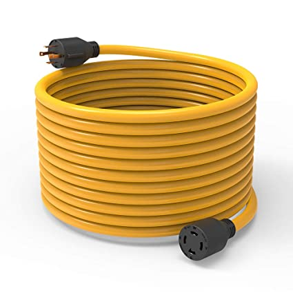 Bougerv 40 Feet Nema L14 30 Generator Power Cord Heavy Duty Electric