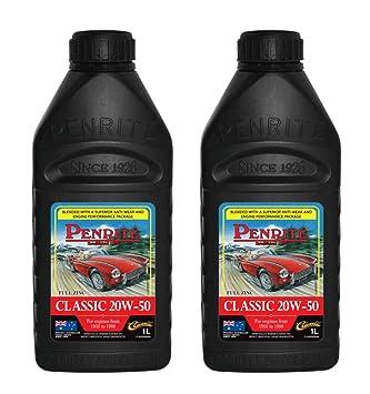 Penrite Classic - Aceite (20 W/50, 2 L)