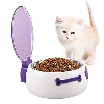 milkee automático de mascotas Dispensador de alimentos bandeja - Comedero para perros y gatos: Amazon.es: Productos para mascotas