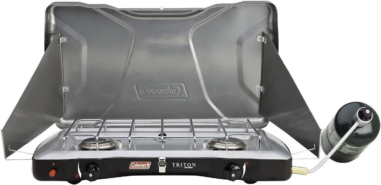 Coleman Triton Series InstaStart 2-Burner Stove