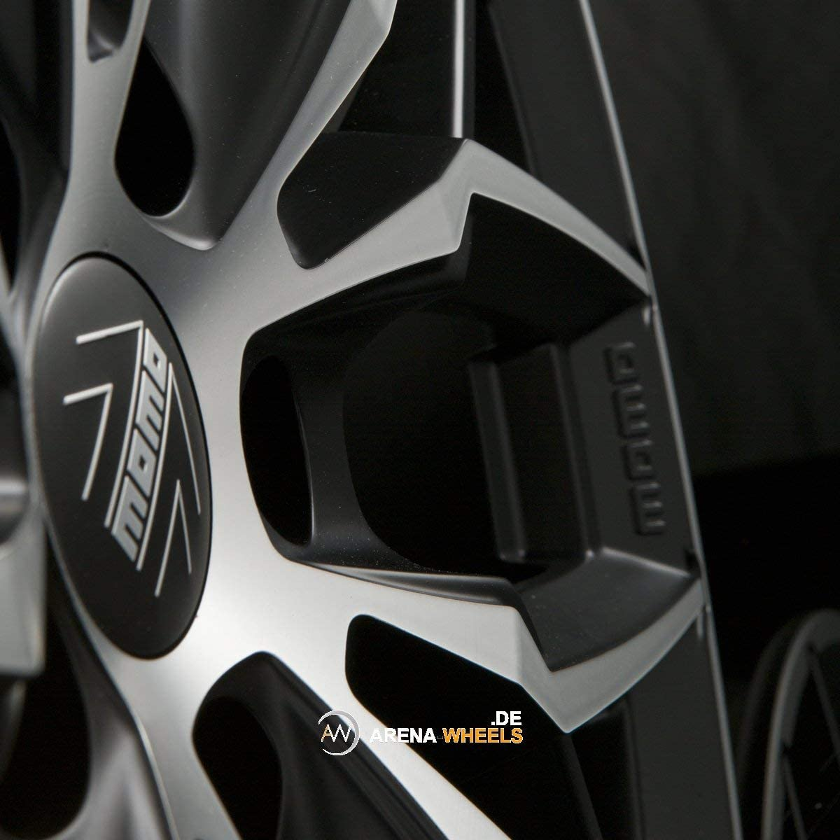 9.5 x 19 ET45 5 x 112 Alloy Wheels MOMO WSPB9594512S Car