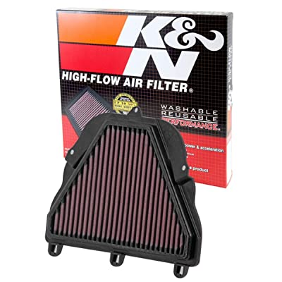 K&N Engine Air Filter: High Performance, Premium, Powersport Air Filter: 2006-2012 TRIUMPH (Daytona 675, Daytona 675R, Street Triple, Street Triple R, Daytona 675 SE) TB-6706: Automotive
