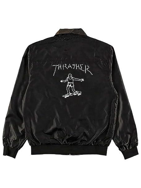 THRASHER Chaqueta Gonz Reversible Negro-Camo (M, Negro ...