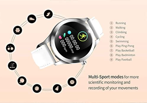 Relojes Inteligentes X100 Kw10 Bluetooth Smart Watch Heart Rate ...