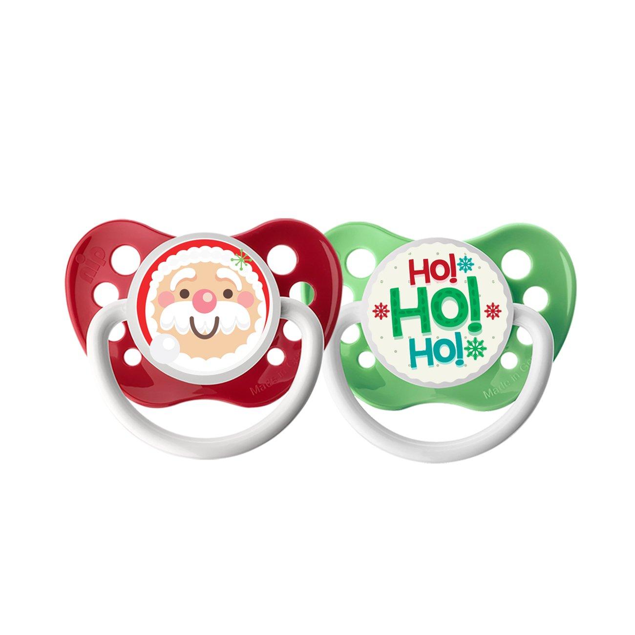 Amazon.com: Ulubulu Chupete de día festivo, Navidad Santa ...