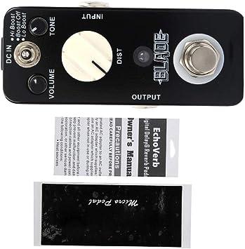 Bnineteenteam Mini Guitarra eléctrica Pedal de Efecto Heavy Metal ...
