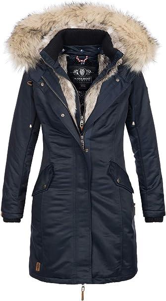 Navahoo Premium B664 Winterjas voor dames, parka, warme