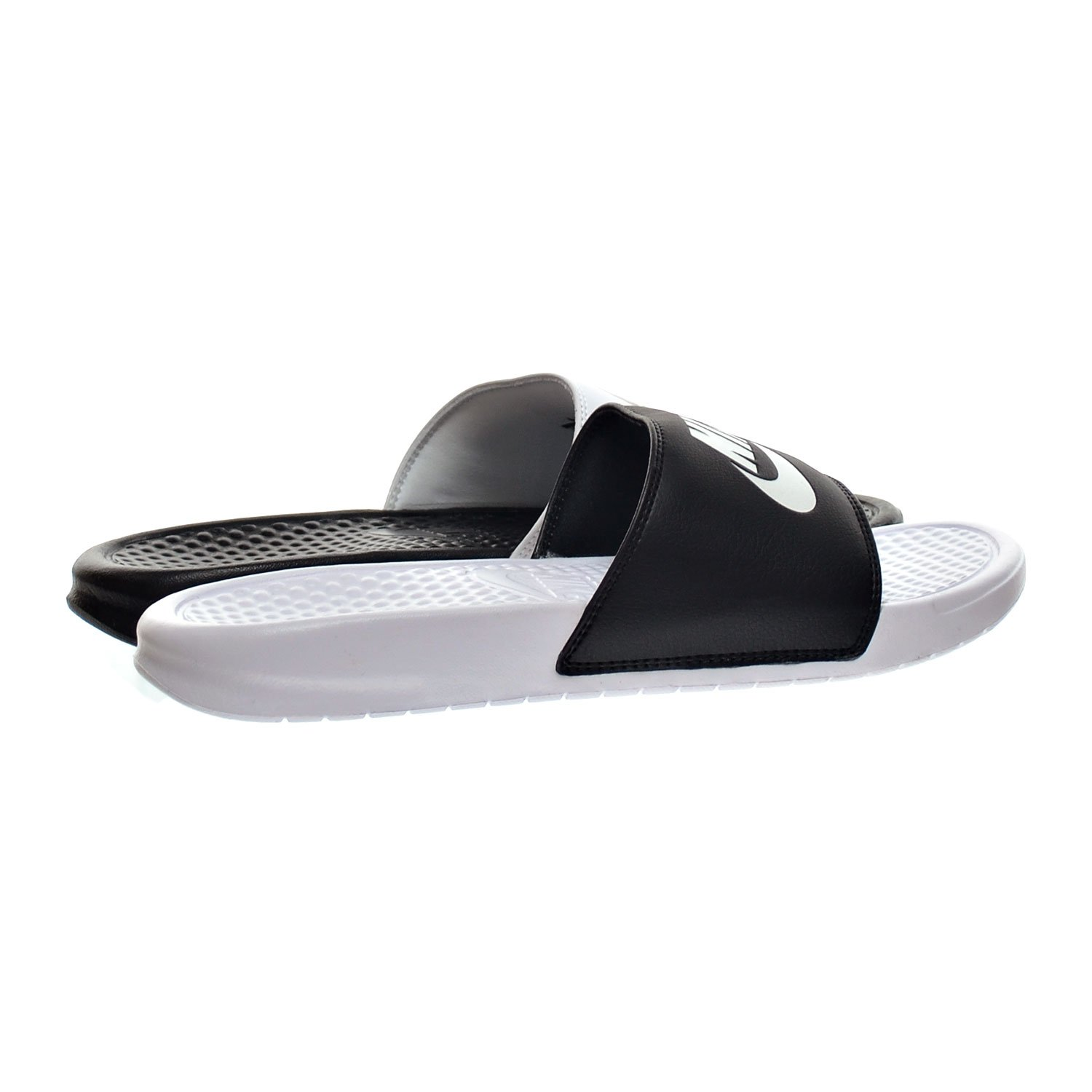 f924f48ede0a Nike Benassi JDI Mismatch Men s Sandals Black White 818736-011 (13 D(M)  US)  Amazon.ca  Shoes   Handbags