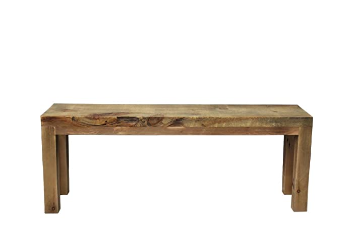 Groovy Bench Wooden Bench Rustic Parsons Style Free Shipping Camellatalisay Diy Chair Ideas Camellatalisaycom