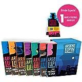 Lupin I - Box com 7 livros com marcador de páginas