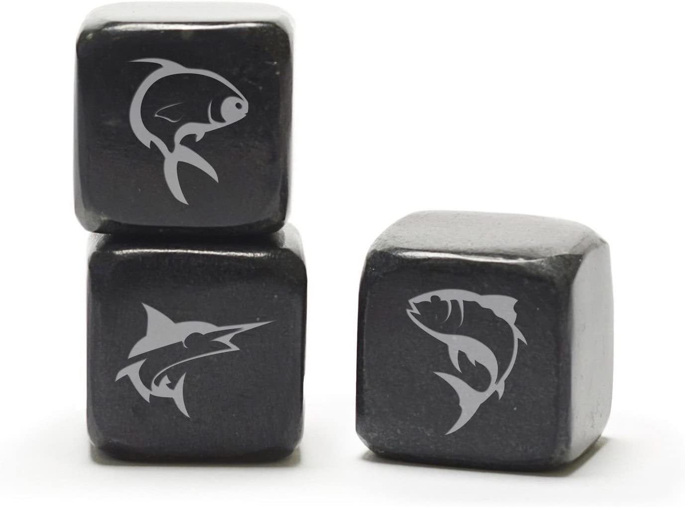 Teroforma Icon Whisky Stones Fishing - Soapstone Beverage Cubes