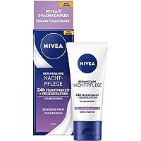 Nivea 82348-01039-20 Kalmerende Nachtcrème 24 Uur Vocht + Gevoelige Regeneratie, 50 Ml