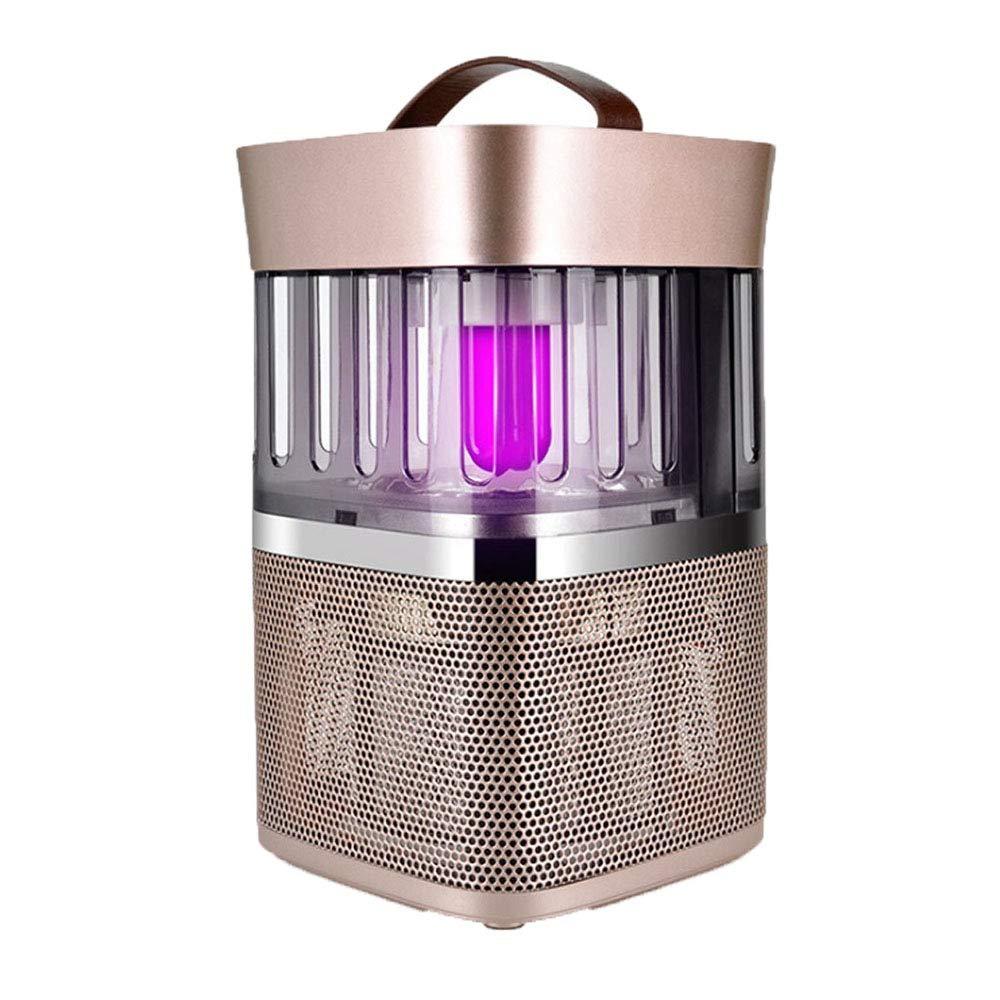 LDFN Photokatalysator Anti-Moskito-Lampe Stumm Keine Strahlung Geeignet Für Schlafzimmer Wohnzimmer Wohnzimmer Etc. (Farbe: Gold),Gold