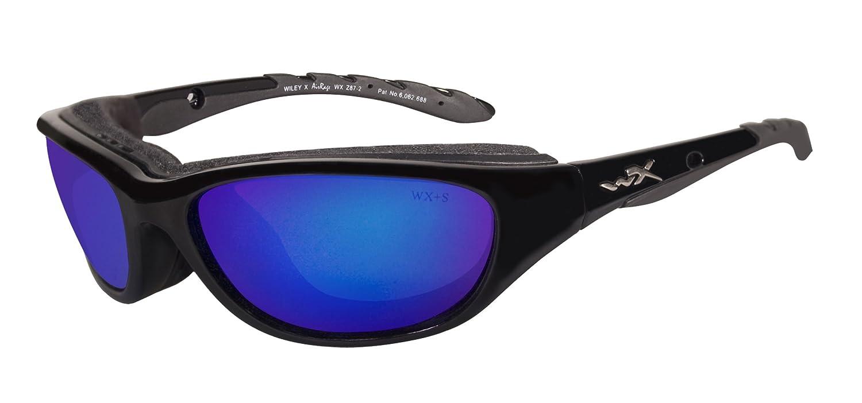 Wiley X Airrage Climate Control 698 - Gafas protectoras (talla S-M), color negro brillante: Amazon.es: Deportes y aire libre