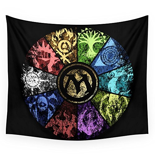 [Society6 Magic The Gathering - Faded Guild Wheel Wall Tapestry Large: 88