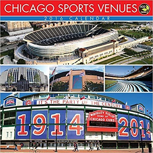 2016 Chicago Sports Venues Wall Calendar by TF Publishing