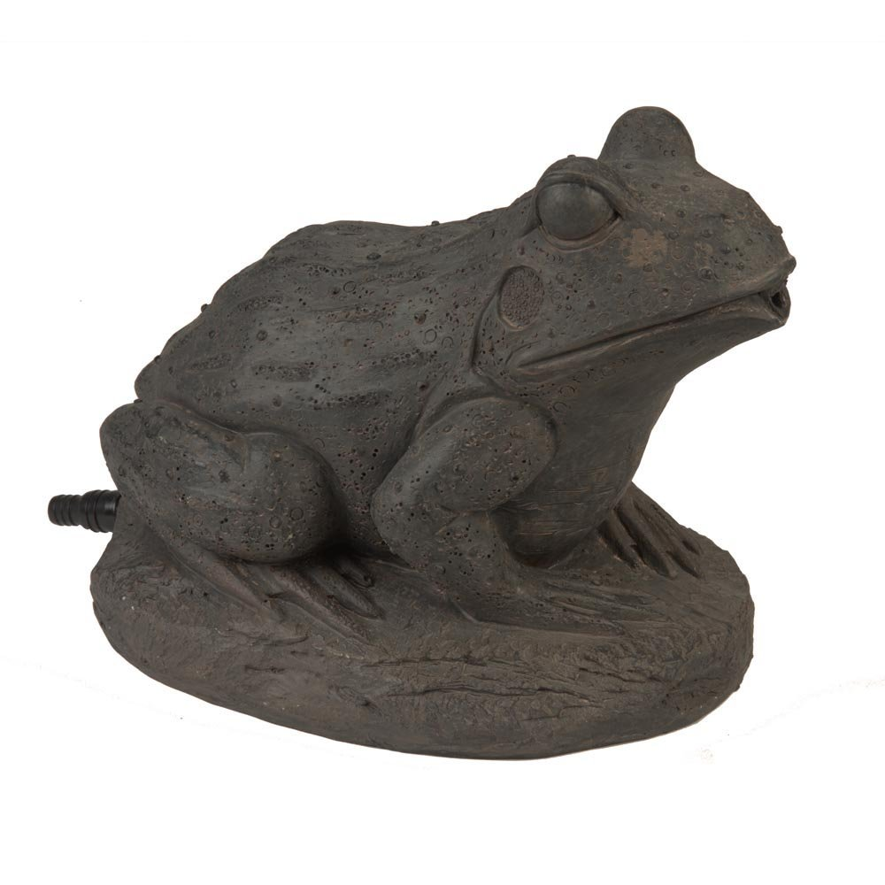 AQUANIQUE Frog Spitter, Brown