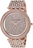 Michael Kors Women's 'Darci' Quartz Stainless Steel Casual Watch, Color:Rose Gold-Toned (Model: MK3780)