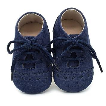 155201f51e019 Chaussures Bébé Binggong Chaussures Mode tout-petit Sneaker Chaussures  Antidérapantes à Semelle Souple Chaussures à
