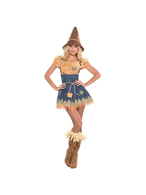 Amazon.com: Sultry Scarecrow Costume (XL 14-16): Toys & Games