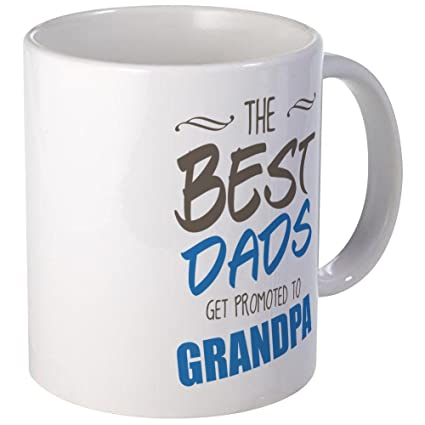 65e746c0 Image Unavailable. Image not available for. Color: CafePress - Great Dads  Get Promoted To Grandpa ...
