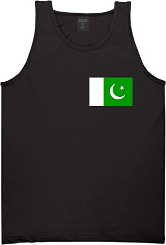 Pakistan Flag Country Chest Tank Top Shirt