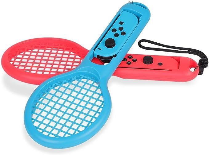 Fdit Raqueta de Tenis para Nintendo Switch Joy-con Mario Tenis ...