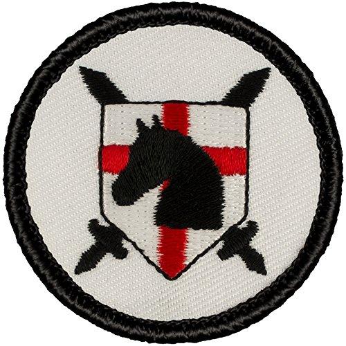 Paladin Shield (White) Patrol Patch - 2