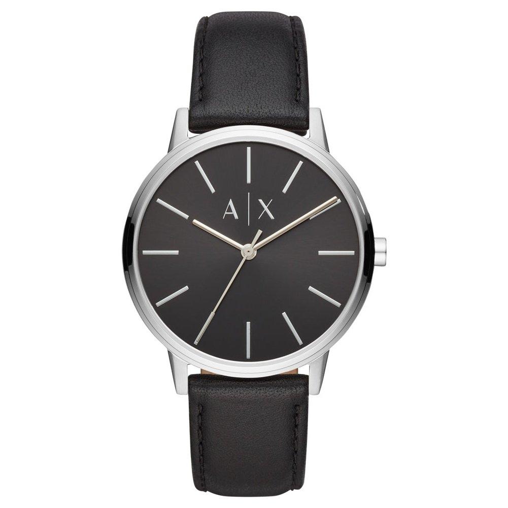 Armani Exchange Reloj Analógico para Hombre de Cuarzo con Correa en Cuero AX2703