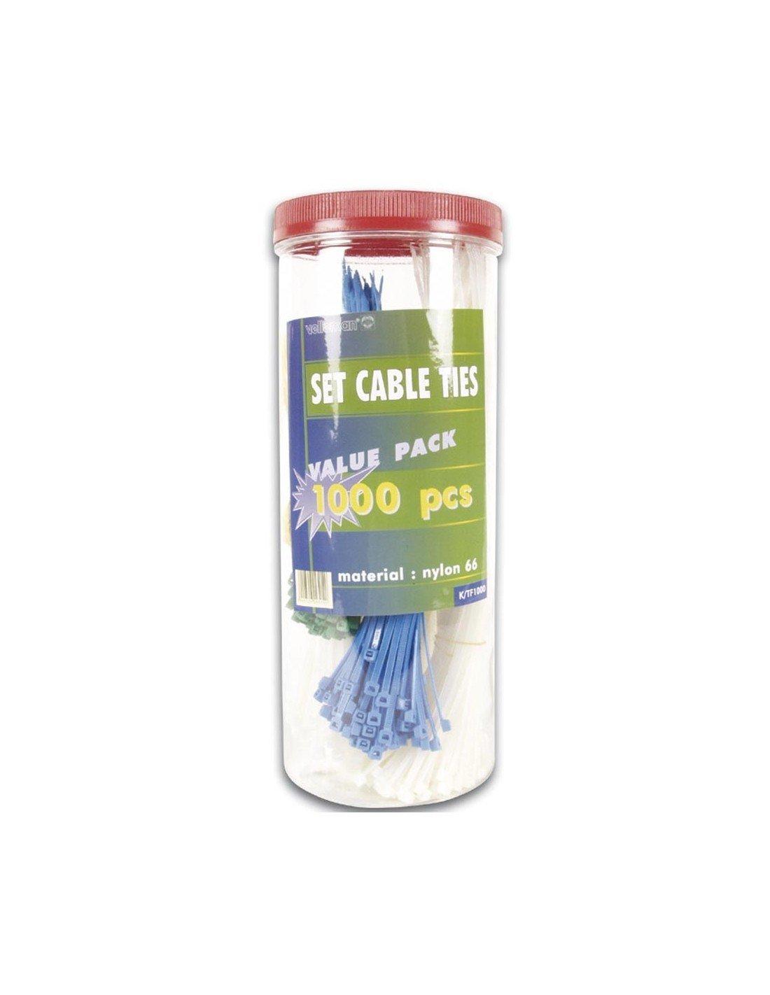 Materiales de montaje 511158 Surtido de Bridas de Cable (Pack de ...