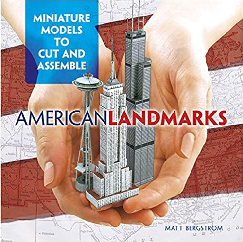 Miniature Models to Cut and Assemble American Landmarks