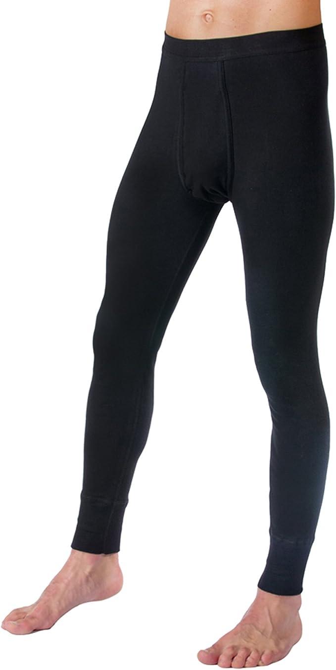 HERMKO 3540 Kit de 2 Pantalones Interiores para Hombre Long Johns
