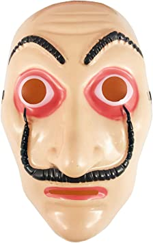 DS TOYS Máscara Salvador Dalí Cosplay Disfraz La Casa de Papel ...