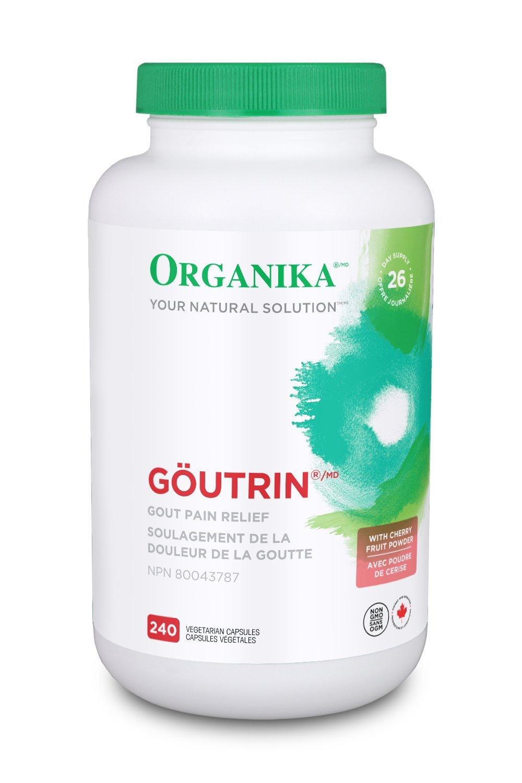 Goutrin (240 Capsules) Brand: Organika