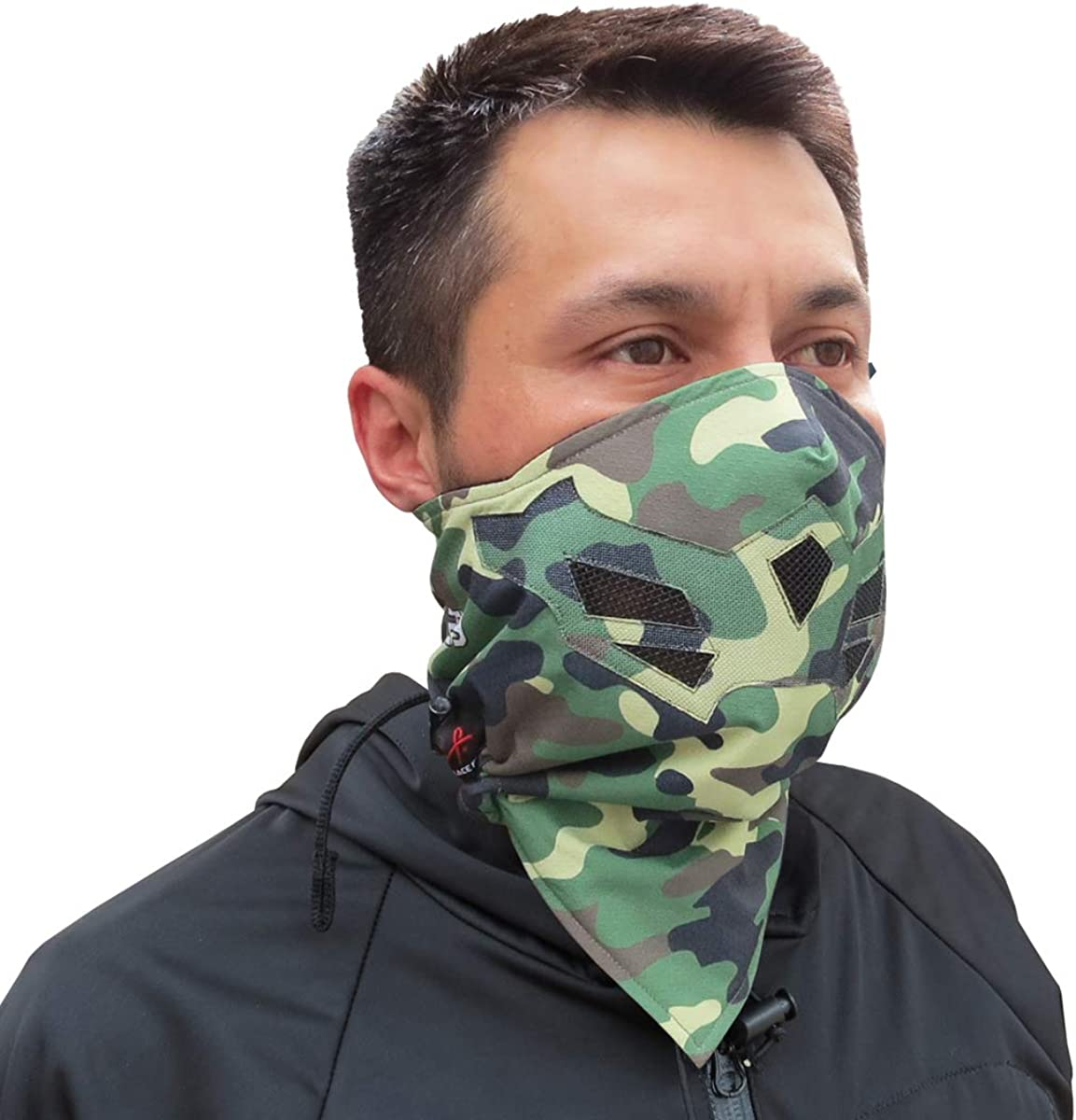 Motorcycle. Many Colors Grace Folly Half Face Mask for Cold Winter Weather Use this Half Balaclava for Snowboarding Ski