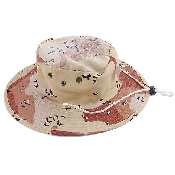 97495261dcda67 UxradG Orange Camouflage Browm Bucket Hat Boonie Hunting Fishing Outdoor  Cap Wide Brim Military Unisex Sun Camo: Amazon.in: Clothing & Accessories