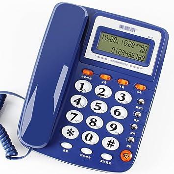 Telefon altmodisch Festnetztelefon Geschäft Büro verdrahtet Telefon ...