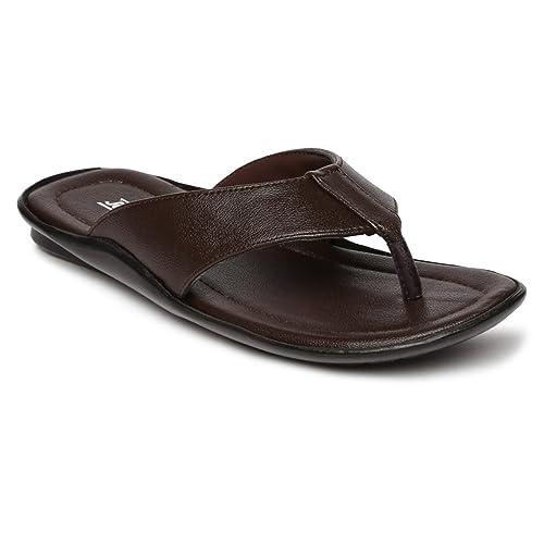 a9d981513 PARAGON Vertex Plus Men s Brown Flip-Flops  Buy Online at Low Prices in  India - Amazon.in