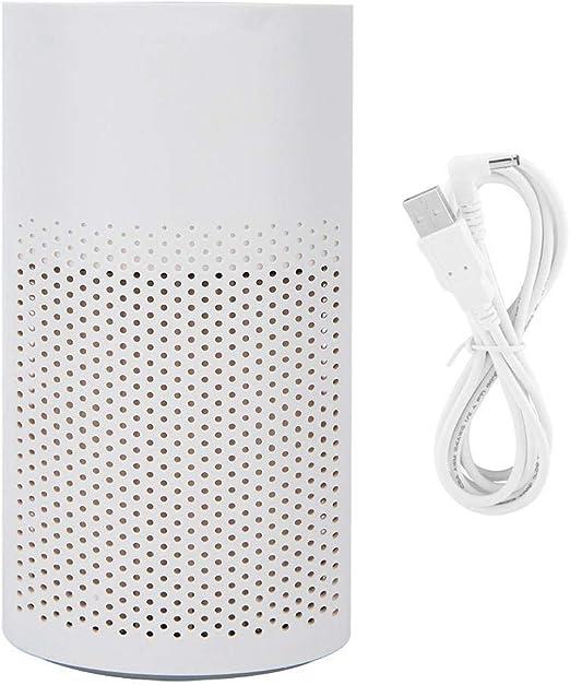Qkiss PM2.5 Eliminación de olores Coche Oficina Hogar Filtro de aire Purificador Limpieza Desodorizador USB, Silencioso en el dormitorio, Eliminación de limpieza del sistema de filtración, Molde de po: Amazon.es: Hogar