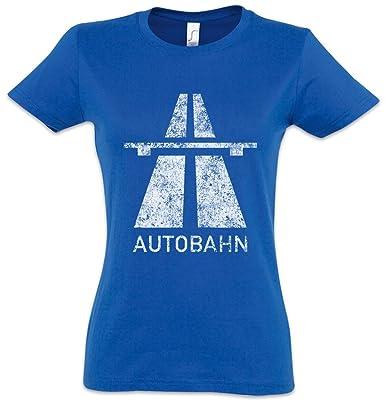 Urban Backwoods Autobahn Women T-Shirt -Electro Pop Kraftwerk